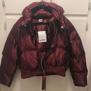 IVY PARK cropped puffer jacket